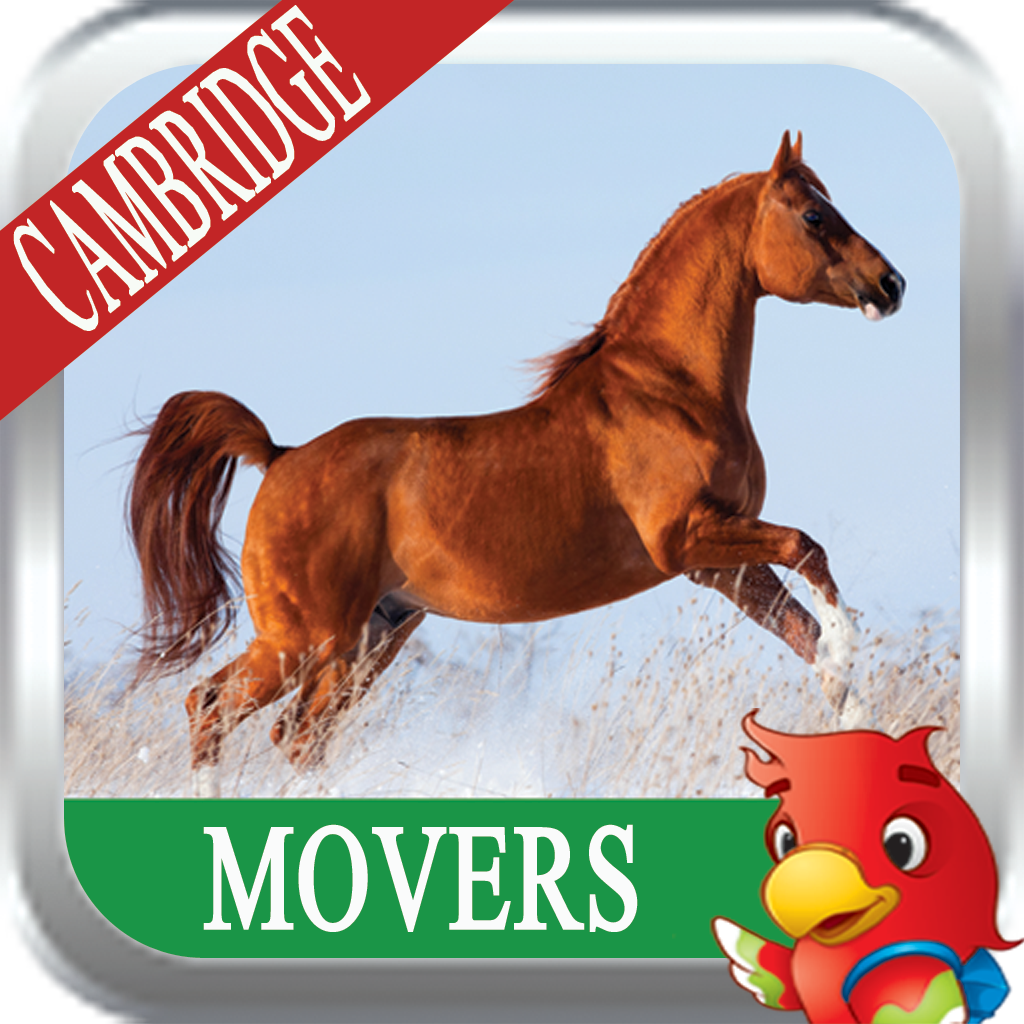 Cambridge YLE Movers (App Store & Play Store)